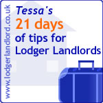 21 days of tips for Lodger Landlords